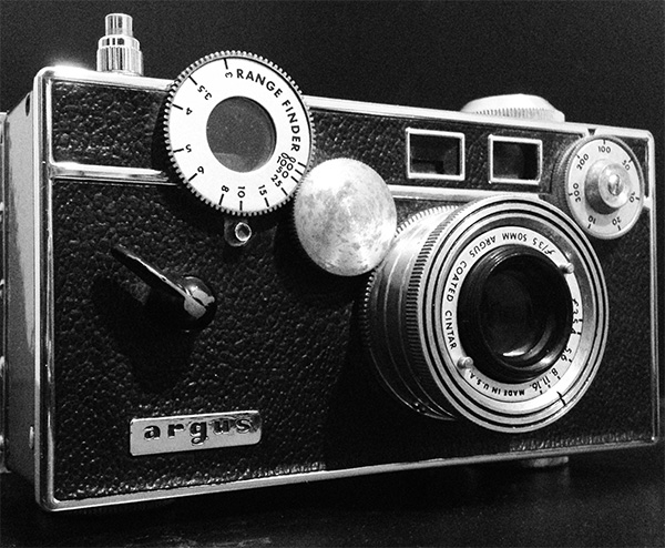 Argus C3 with the settings I used for the images below.
