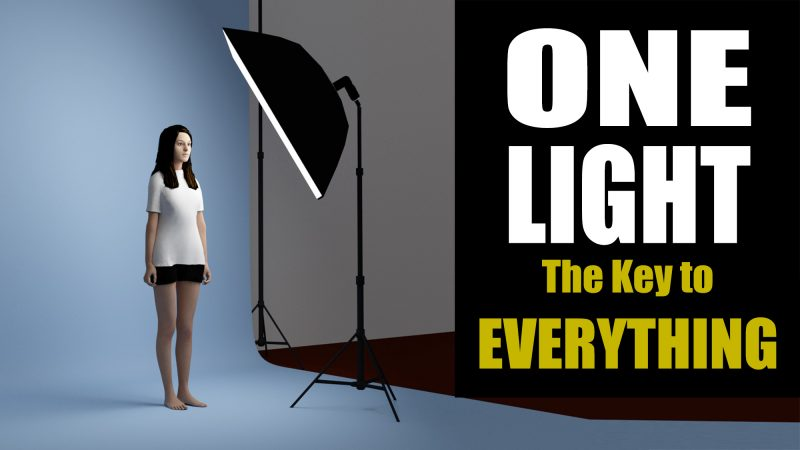 one-light portraits