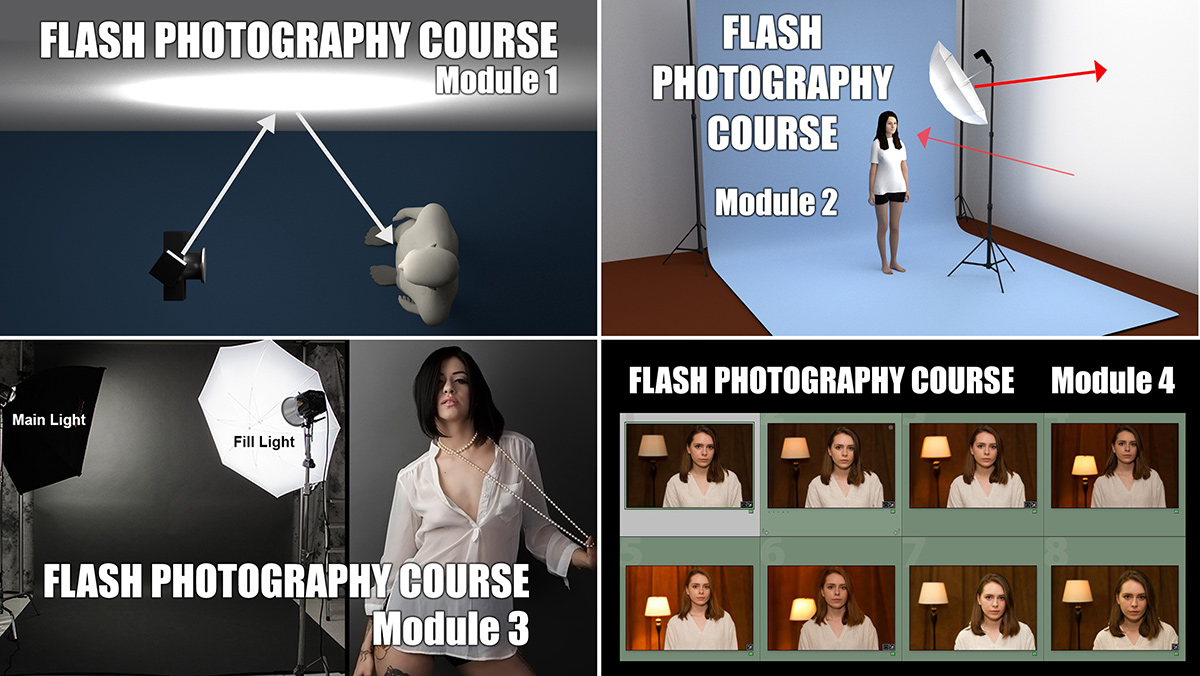 free flash photography course