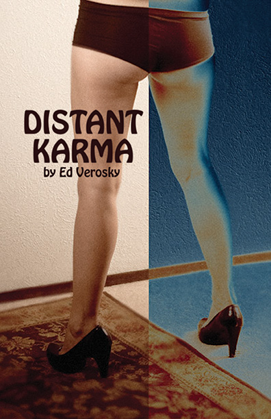"Physical photobook.  36 pgs, 5.5"" x 8.5"", saddle-stitched, color.  Distant Karma is a photobook spanning a decade of work and artistic exploration. *Contains some nudity."
