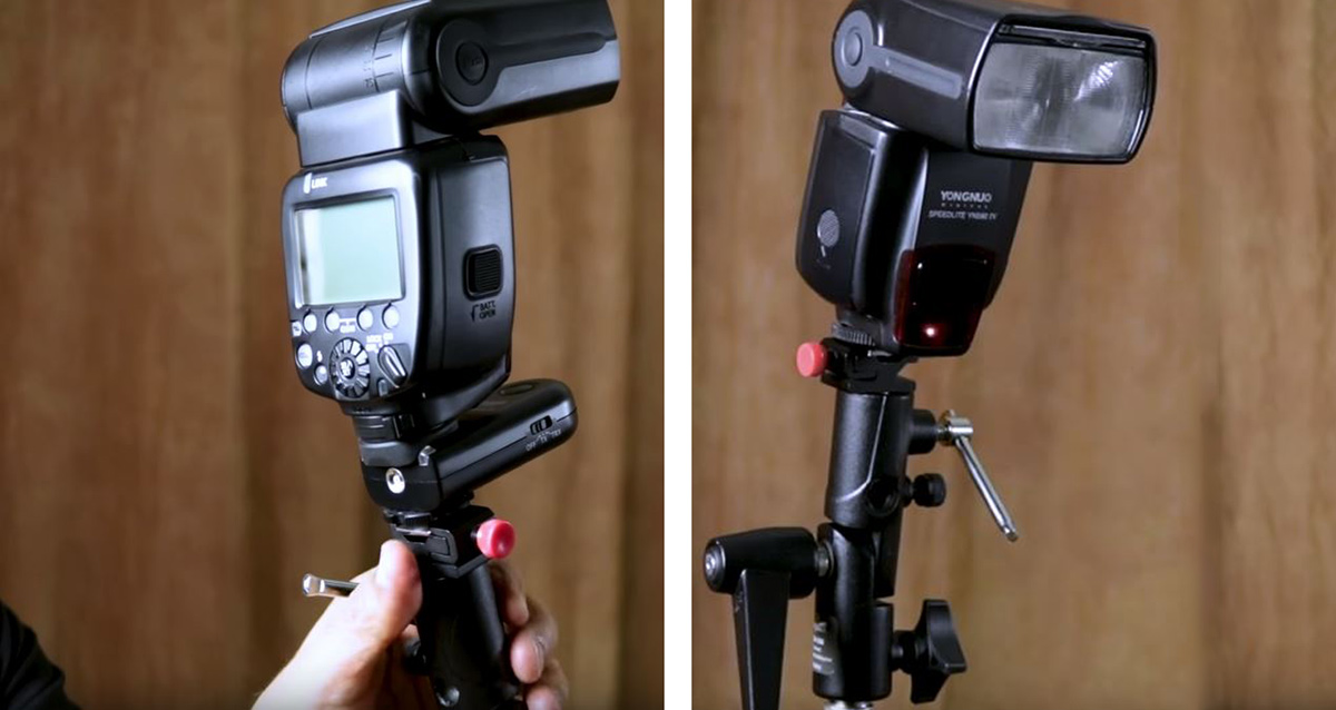 radio trigger for off-camera flash