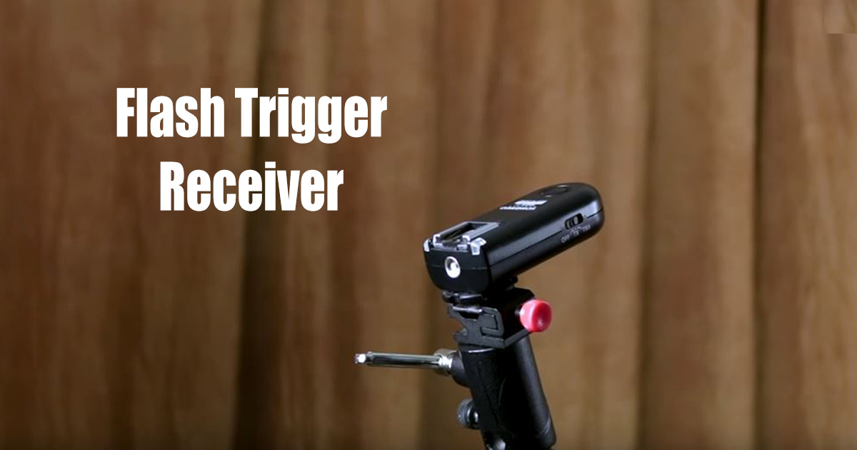 flash trigger receiver for off-camera flash