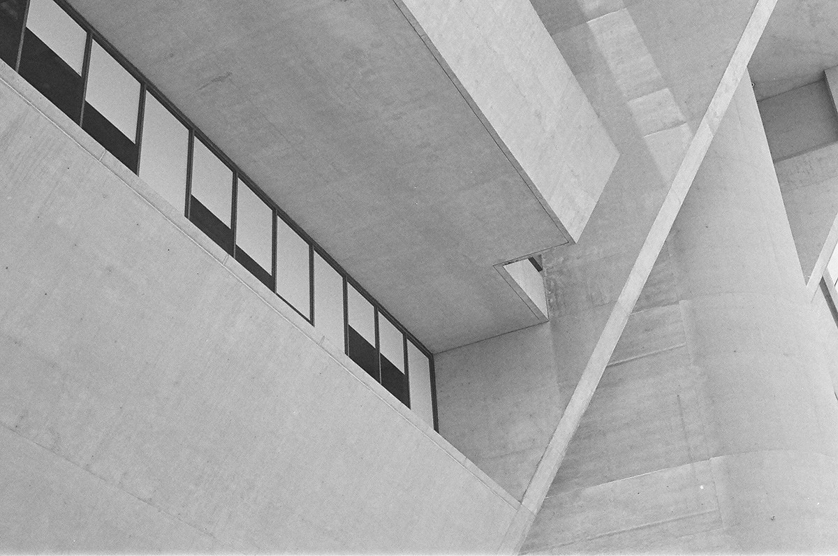 dallas city hall on tri-x 400 film