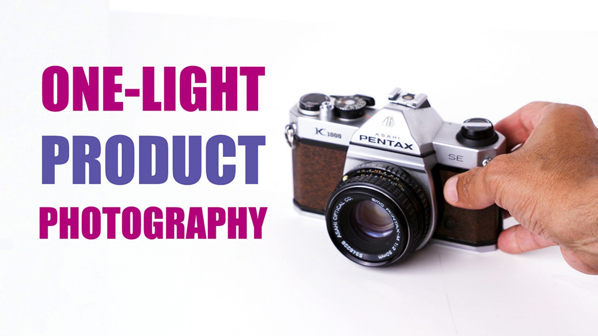 one-light-product-photos